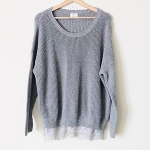 Urban Outfitters Pins & Needles oversized sweater